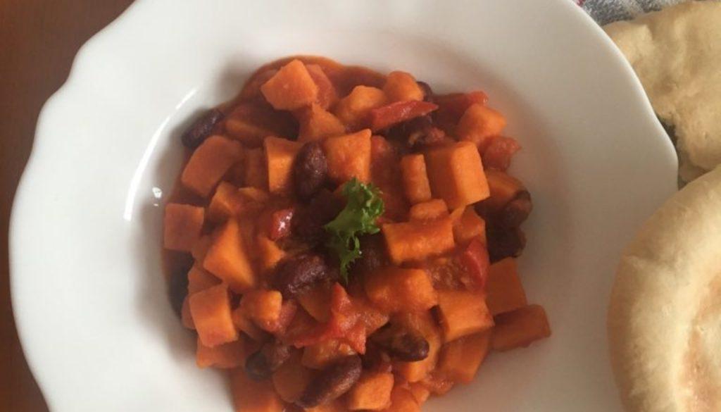 Batátové chilli