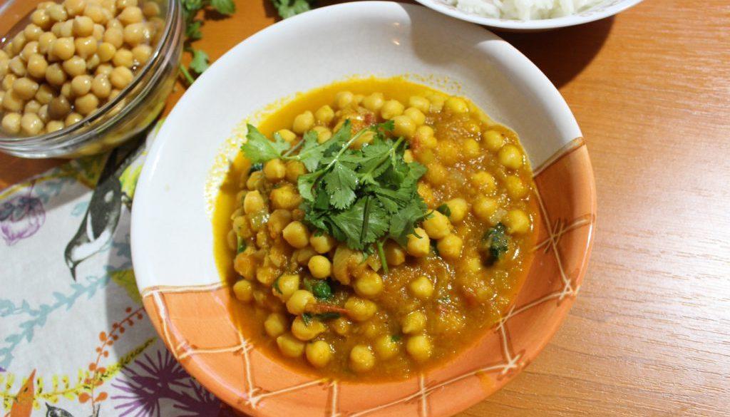 Chana masala | vegan (Cizrna na indický způsob)